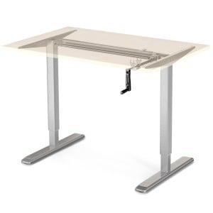 DF100 silber Tischgestell